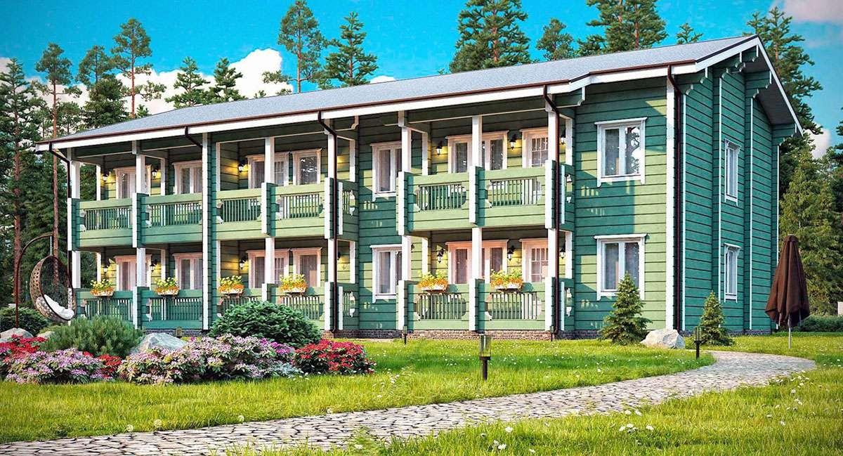 Гостиница от 502 м2