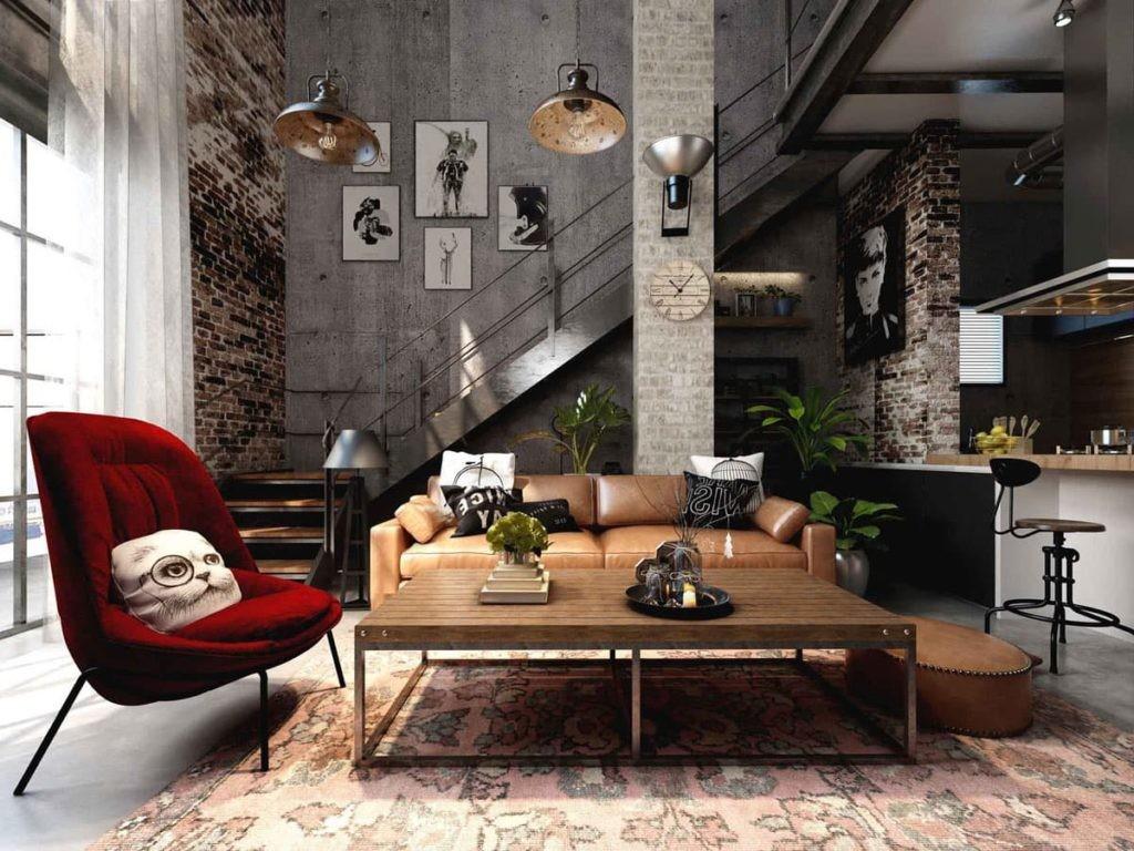 """Внутренняя отделка помещений стиль """"ЛОФТ""""  ( Loft Design )"""