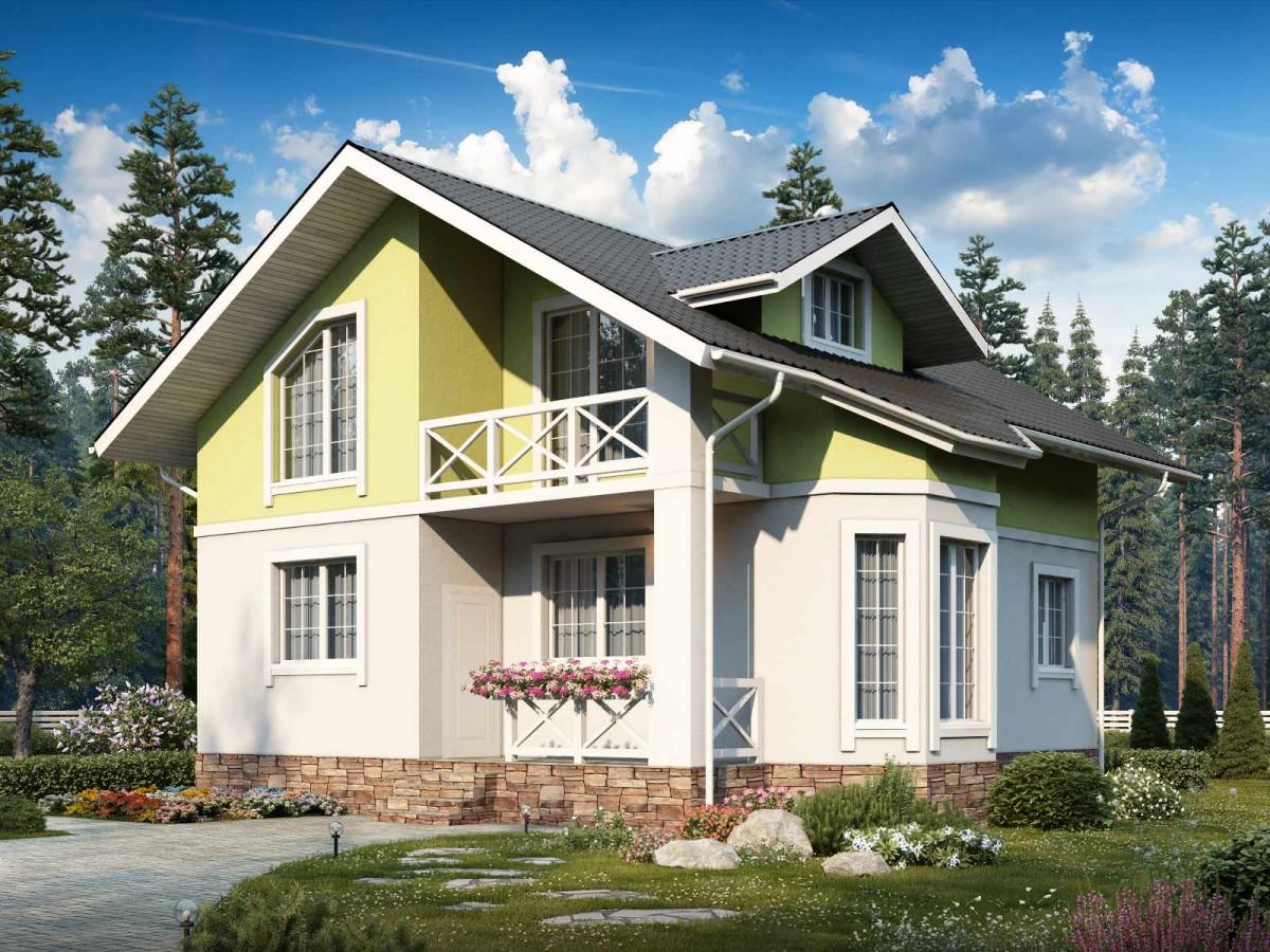 Дом из бетона купить к изготовить цементный раствор