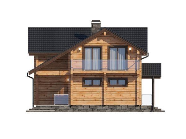 "Дом из профилированного бруса ""Гранат"" 12х12 288м2"